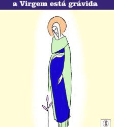 Advento a Virgem esta gravida